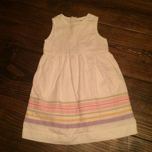 Baby Gap Ribbon Trim Dress